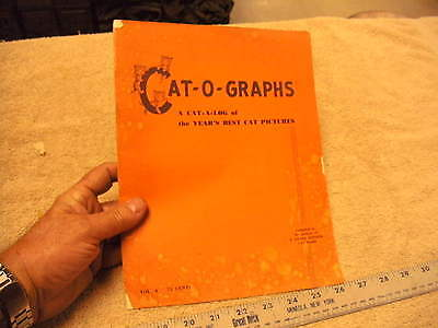 Cat-O-Graphs VOL 4, 1954 Year's Best Cat Pictures   3 Little Kittens Cat Food