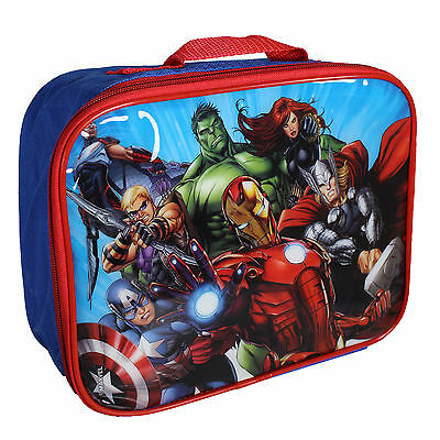 Disney TV Character 'Back to School' Insulated Lunch / Cool Bag  Marvel Avengers