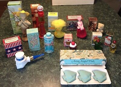 Vintage 60s 70s Avon Collection Lot~New Old Stock~Kids~Decanters~Rare With Boxes