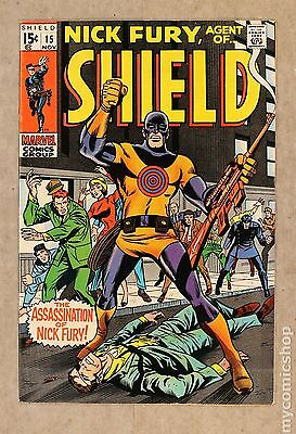 Nick Fury Agent of SHIELD (1968 1st Series) #15 VF+ 8.5