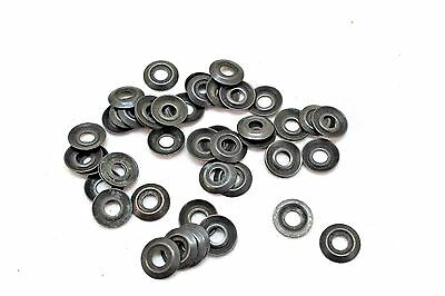 WWII US Blued Steel Washer 15mm wide diameter hole size 5.5mm lot of 50pcs E7120