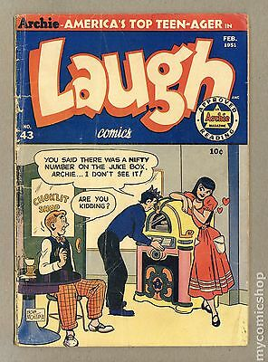 Laugh Comics (1946 1st Series) #43 GD- 1.8