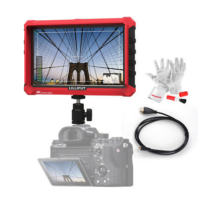 Lilliput A7s 7-inch 1920x1200 HD IPS 500cd/m2 Camera Field Monitor+ HDMI Cable