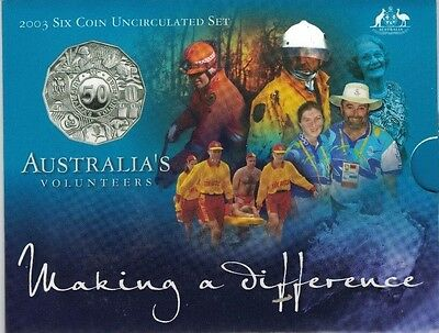 2003 Royal Australian Mint Uncirculated Coin Set