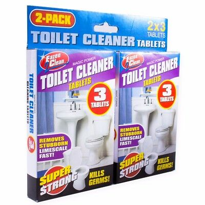 6x TOILET BOWL & CISTERN CLEANER Germ Killing Fasting Acting Limescale Removal
