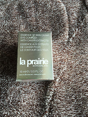 Orig.  LA PRAIRIE ESSENCE OF SKIN CAVIAR EYE COMPLEX 15 ML NEU OVP