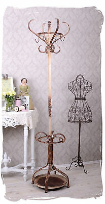 Coat Stand Shabby Chic Wardrobe Country House Style Clothes Stand