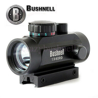 Bushnell 1x40RD Holographic 5 MOA Red/Blue Dot Sight Rifle Laser Scope Japan New