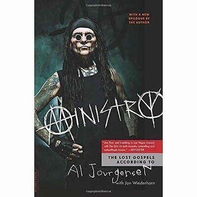 Ministry: The Lost Gospels According to Al Jourgensen - Paperback NEW Al Jourgen