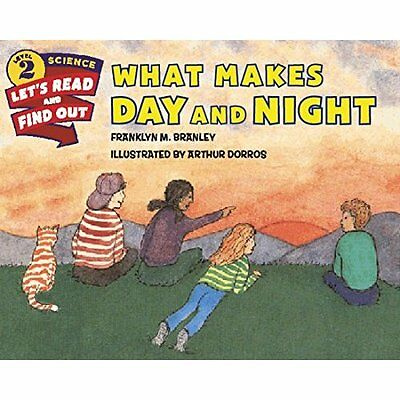 What Makes Day and Night (Let's-Read-And-Find-Out Scien - Paperback NEW Franklyn