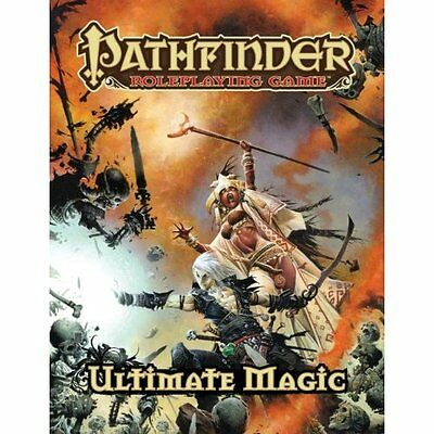 Pathfinder Roleplaying Game: Ultimate Magic - Hardcover NEW Staff, Paizo 2011-06