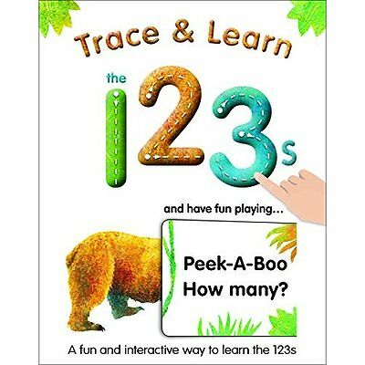 Trace & Learn the 123s - Board book NEW Alex A. Lluch ( 2014-09-11