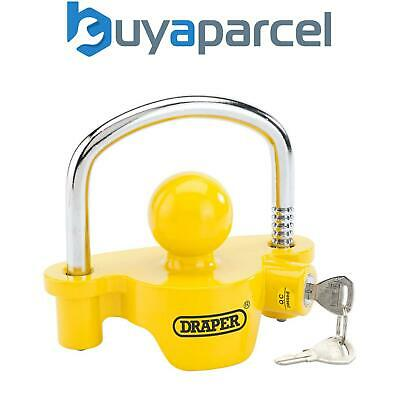 Draper Heavy Duty Ball Tow Hitch Lock for Towing Caravans Trailers Boats 81707