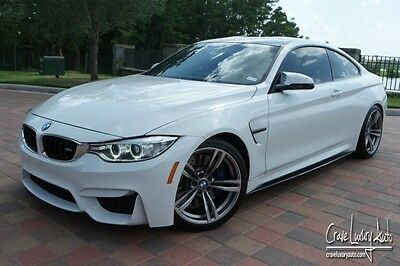 2015 BMW M4 Base Coupe 2-Door BMw M4 6 speed manual carbon fiber loaded leather sport Crave Luxury Auto