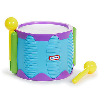 Little Tikes Tap a Tune Drum Kids Musical Instrument Toy New - BLUE
