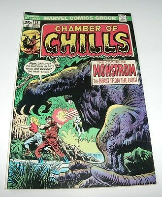 Chamber of Chills #18 Marvel Horror Comic Book Strange Summer Blow Out Sale!!!!!