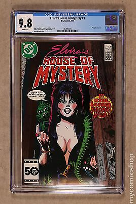 Elvira's House of Mystery (1986) #1 CGC 9.8 1464951014