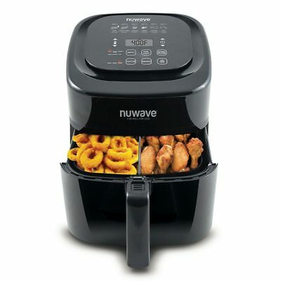 NuWave 6 qt. Digital Air Fryer AS SEEN ON TV Black 37001