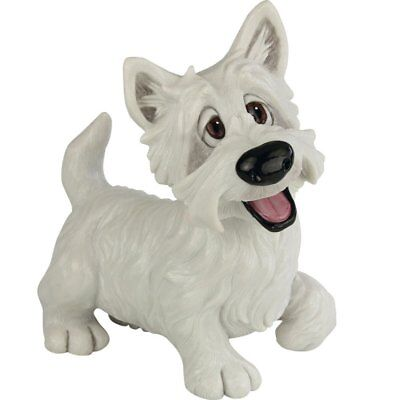 """Pets With Personality """"Blair"""" Westie West Highland Terrier Dog Figurine 8.5""""H"""