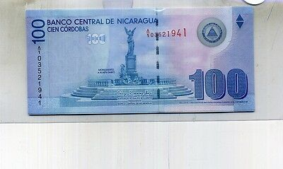 Nicaragua 2007 100 Cordobas Currency Note Cu 4619D