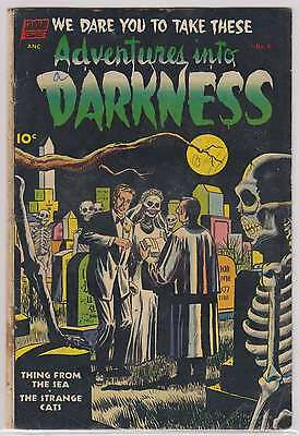 L2509: Adventures Into Darkness #6, G-VG Condition