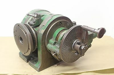 "6"" Indexing Universal Dividing Head For Milling Machine In Good Condition"