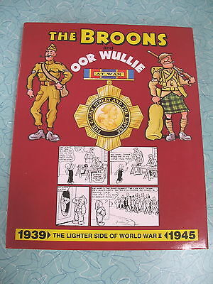 "D C Thomson The Broons & Oor Wullie Compilation   ""at War""  1939-1945 Strips"