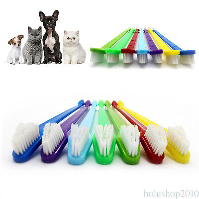 Toothbrush Dental Care Tool For Pet Puppy Dog Oral Health Pet Cat Dog Teeth Care