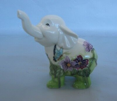 Old Tupton Primrose Elephant Ceramic Figurine * New in Box *