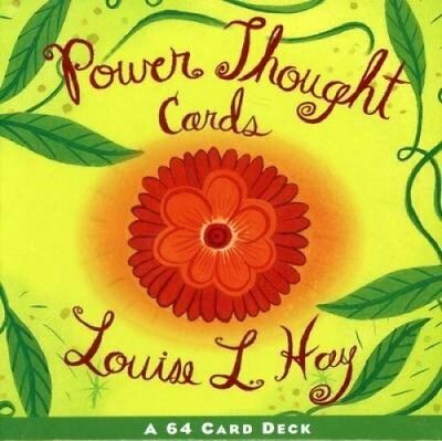 Power Thought Cards by Louise Hay 9781561706129 (Cards, 1998)