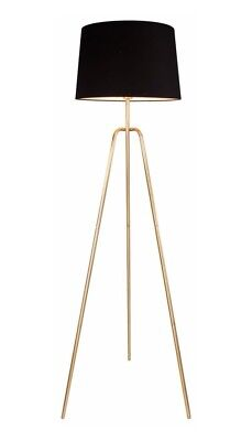 Fine Debenhams Home Collection Daisy Tripod Floor Lamp Gold Gmtry Best Dining Table And Chair Ideas Images Gmtryco