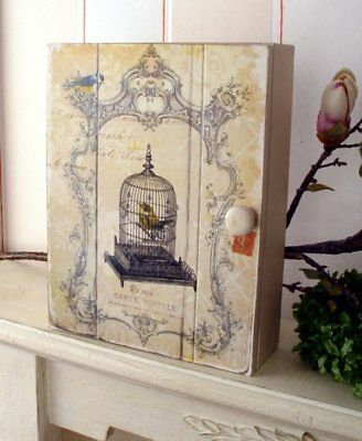 French Key Cabinet Aviary Maison Provence Country House Style