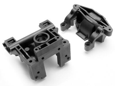 Hpi Racing Savage X 4.6 Gt-2 85235 Ger Box/bulkhead Set - Genuine New Part!