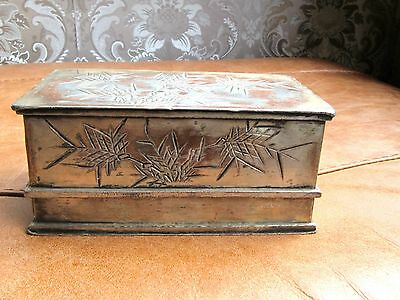 Old Silver Cigarette Box .japanese/chinese