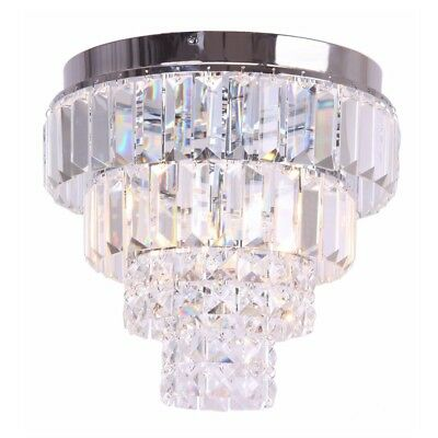 Debenhams home collection mia crystal chandelier ceiling light debenhams home collection heidi flush ceiling light crystal glass tiered aloadofball Choice Image