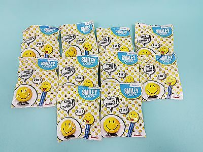 Smiley Collect World Serie I Smilies 10 x Booster mit Saugnapf Sticker + Booklet