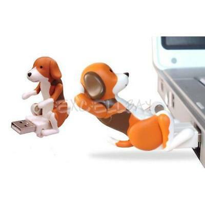 USB Portable Funny Cute Pet Dog Humping Spot Dog Toy Christmas Gray Party Gift