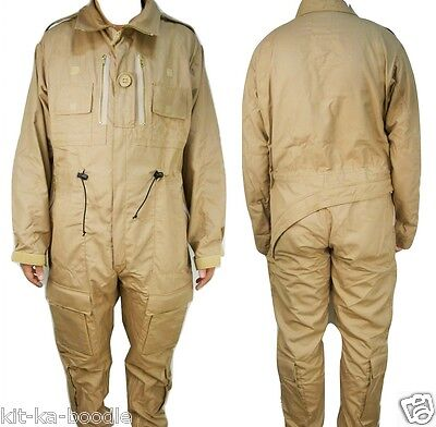 NEW Genuine British Army AFV Crewman Tank Suit Flame Retardant Coverall J6-8 RA4
