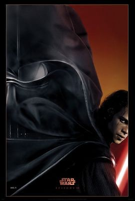 Star Wars Episode III Revenge of the Sith - original DS movie poster  D/S 27x40