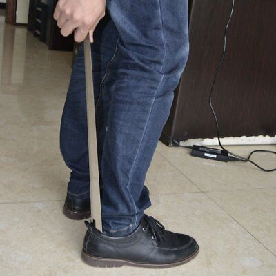 Professional Stainless Steel Shoehorn Durable Long Shoehorn Shoe Lifter Tool XH