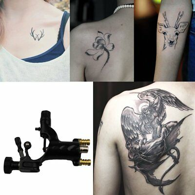 Dragonfly Rotary Tattoo Machine Shader&Liner Assorted Electric Tattoo Motor XH