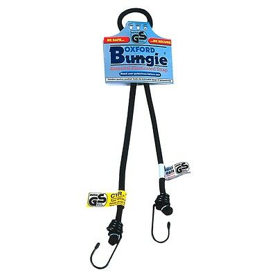 "New Oxford Essential Lightweight TUV/GS Tie Down Hooked Bungie 9x750mm (30"")"