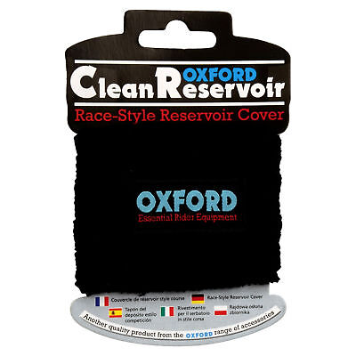 New Oxford Motorcycle Bike Stretch Fit Brake Reservoir Cover Black One Size