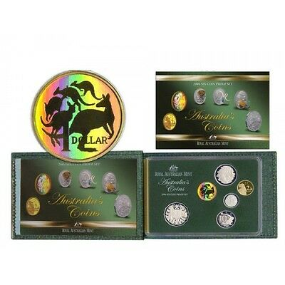 2004 Australia Proof Set - 6 Coins, original packaging