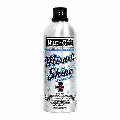 Muc-Off Motorcycle Bike Cleaning Care Carnauba Wax Polymer Miracle Shine Polish