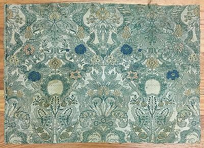 Beautiful Rare 18th Century French Silk Woven Brocade Fabric (2117)