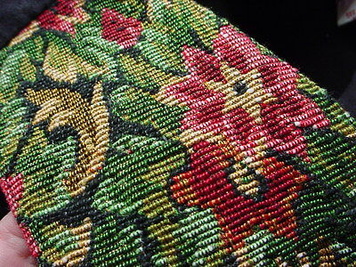Tapestry Vest Renaissance Garb Medium Brynn Connelly Cotton Blend Lined Floral