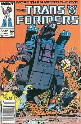 Transformers (1984 Marvel) 1st Printing #27 VG LOW GRADE