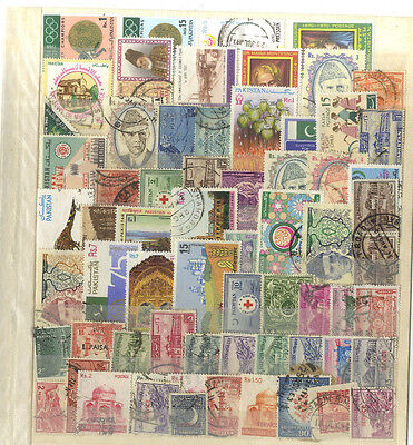 Lot 67 Timbres Anciens Pakistan Asie Asia