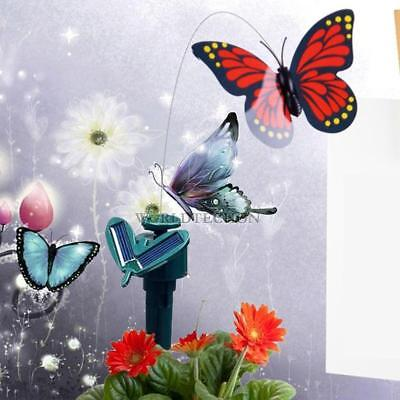 Vibration Énergie solaire Dancing Flying Fluttering Butterflies Garden Decor